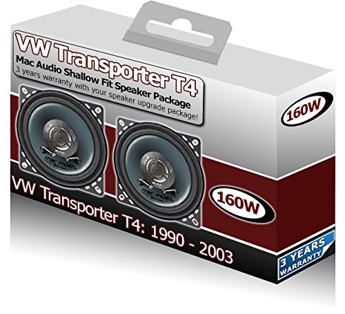 VW Transporter T4 Front Dash speakers Mac Audio 4